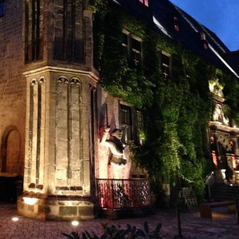 Rathaus Quedlinburg Architekturbeleuchtung