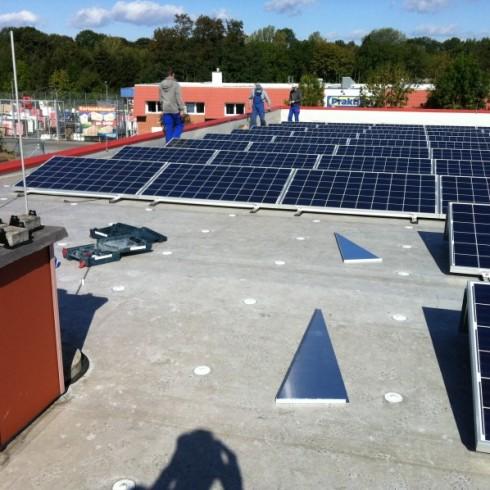Installation einer Photovoltaikanlage in Quedlinburg